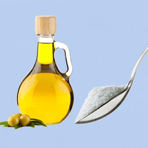 Peeling selber machen: Olivenöl & Zucker