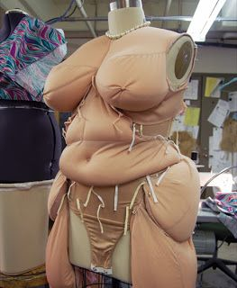 Fine Arts Center Blog: Making a Fat Suit: it aint over till the fat lady sings