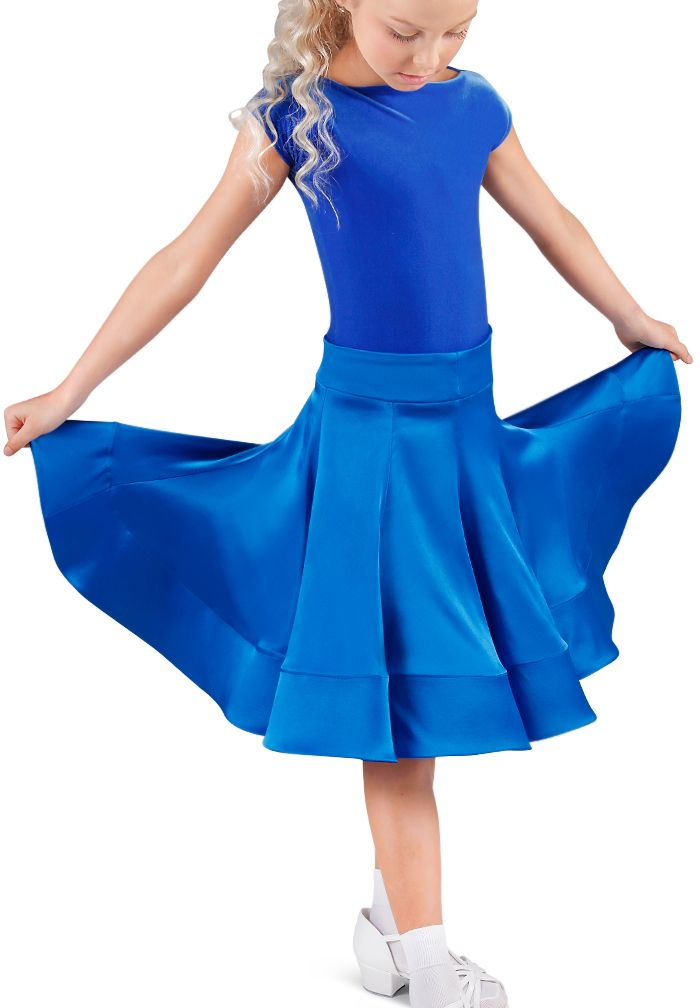 DSI Georgia Juvenile Skirt | Dancesport Fashion @ DanceShopper.com