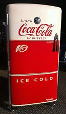 Coca Cola Soda Vintage Refrigerator Coke Antique Vendo Machine
