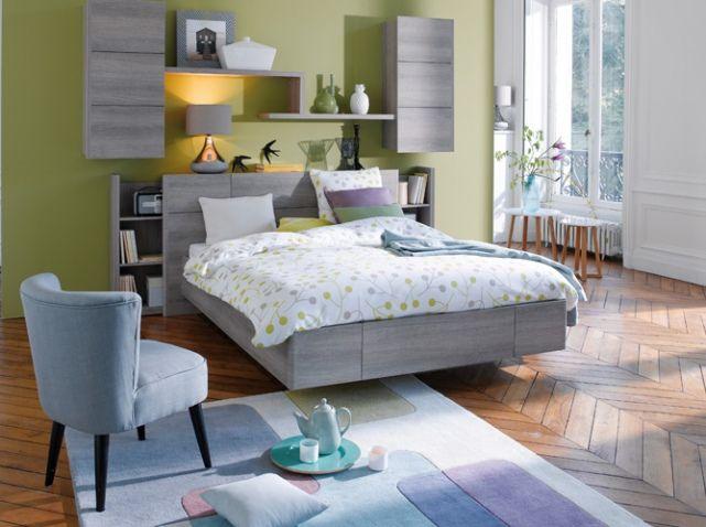 Les 25 meilleures idées de la catégorie Chambre à coucher kaki sur ...