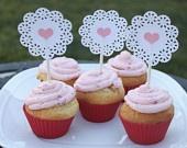 cupcake doily