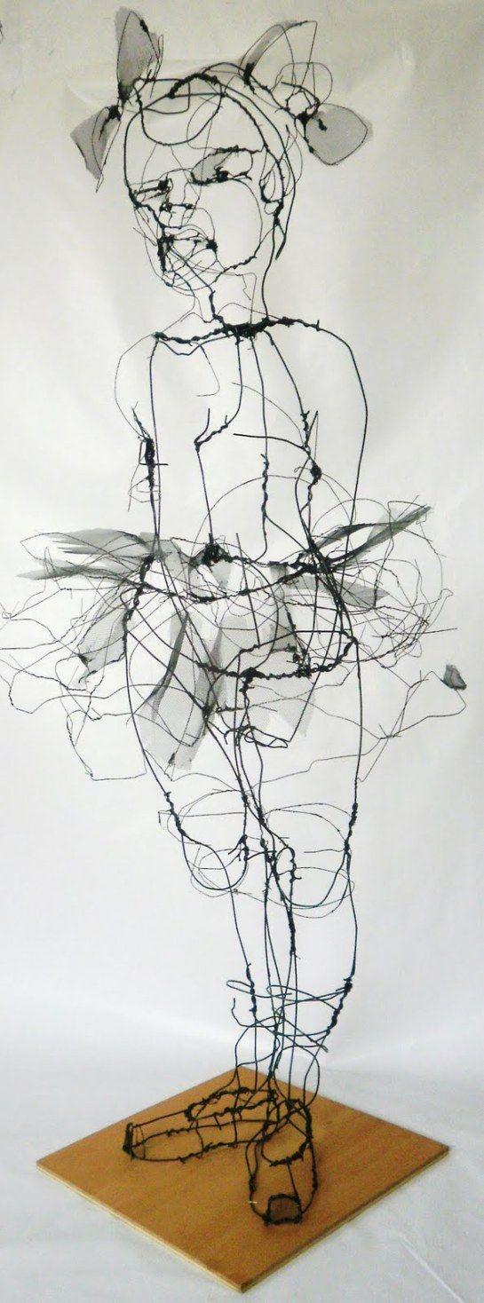 On Pinterest Wire Sculptures Line On Wiring Landscape Lights Parallel