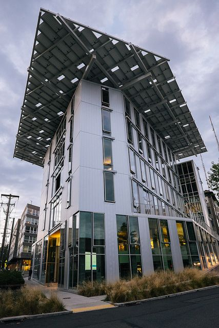 The Bullitt Center in Seattle, Washington, is one of the most self-sufficient buildings on the planet. It is net zero energy and, a...