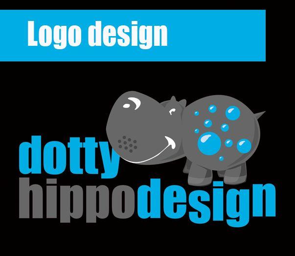 Logo design for dotty hippo design