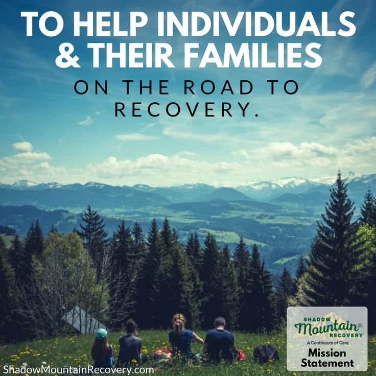 What is Shadow Mountain Recovery's mission? ○○○ #Addiction #Recovery #AddictionRecovery #ShadowMountainRecovery #rehabilitation #detoxification #detox #rehab #Cascade #ColoradoSprings #Denver #Colorado #Albuquerque #Taos #NewMexico #StGeorge #Utah #RecoveryIsPossible #RecoveryIsWorthIt #WeDoRecover #12Steps #12Step #Sober #Sobriety