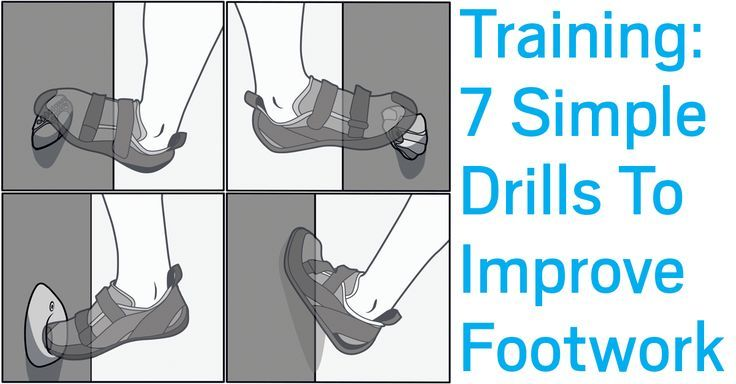 You've surely heard this once (if not a thousand times) before: Climbing is all about your feet. Here's why, and how to improve your footwork.