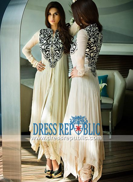 Embroidered Party wear Salwar Kameez Threads Motifs  Buy Online Embroidered Party wear Salwar Kameez by Threads and Motifs 2014 on Dressrepublic in Chicago metropolitan area, United States. by www.dressrepublic.com