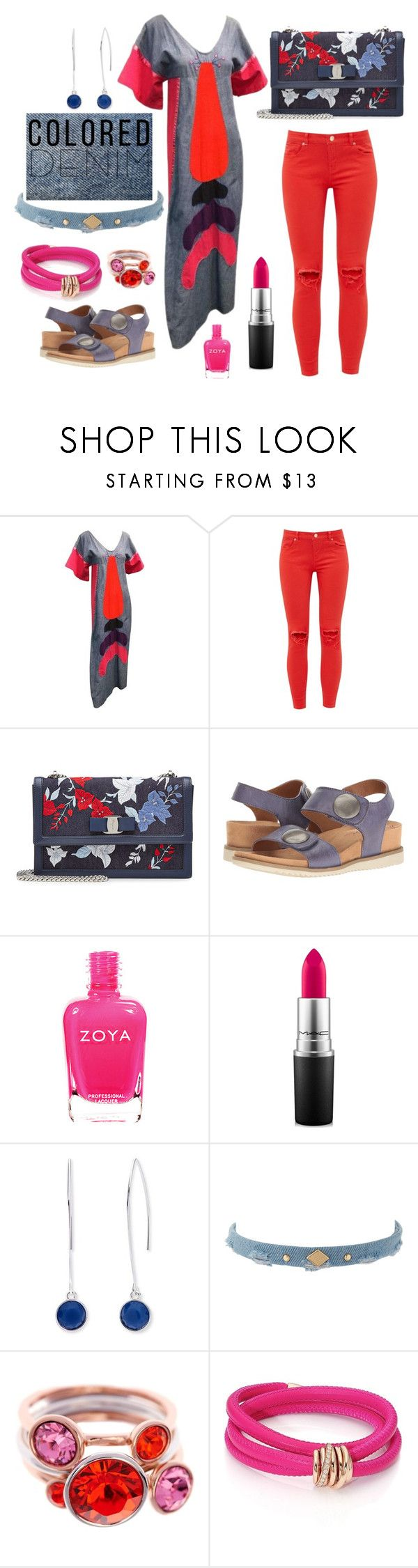 """Untitled #1492"" by moestesoh ❤ liked on Polyvore featuring Ted Baker, Salvatore Ferragamo, Comfortiva by Softspots, MAC Cosmetics, Nine West, Ettika and de Grisogono"