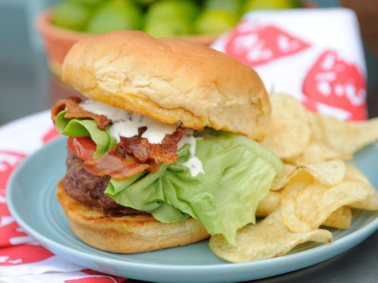 Ranch Dressing 5/24/15 the Kitchen BLT Ranch Burger recipe from Katie Lee via Food Network