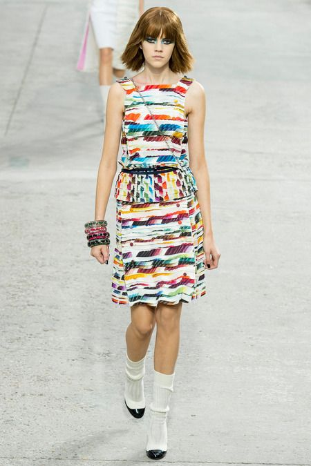 Chanel Spring 2014 Ready-to-Wear Collection Slideshow on Style.com #pfw