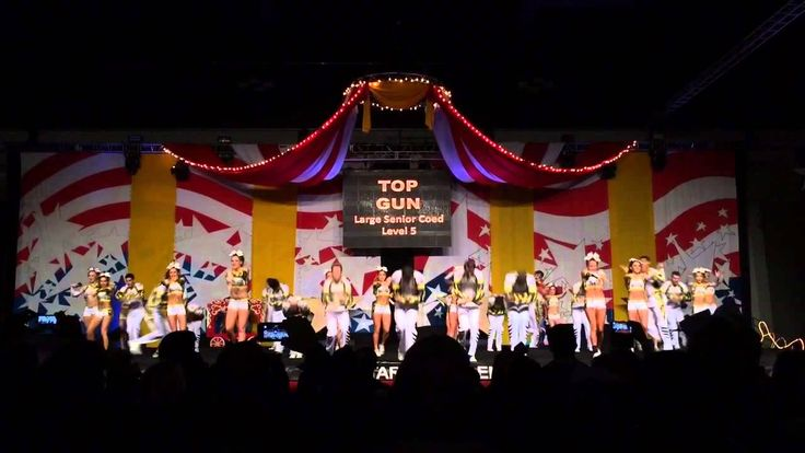 Top Gun Large Coed. Literally the bet routine I have ever seen!
