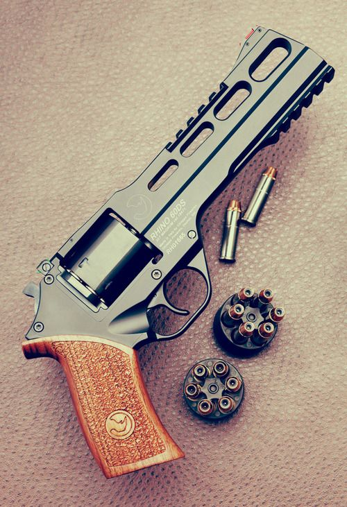 Now this is a revolver. 357 Rhino