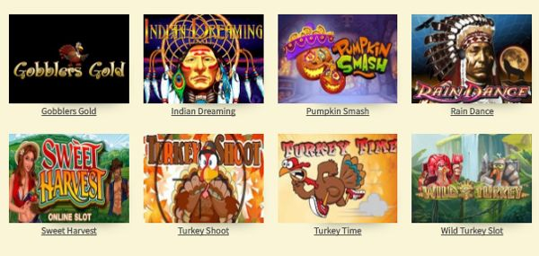 Play free Thanksgiving slots instantly at http://www.CasinoGames.com. The Casino Games site offers free casino games, casino game reviews and free casino bonuses for 100's of online casino games. Find the newest free slots at Casinogames.com.