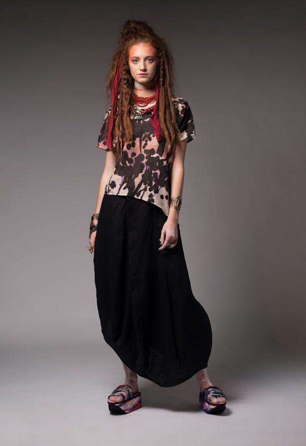 Senlin Village Top and Kolau Mountain Skirt  #dogstar #dogstarclothing #laika #fashion #brisbanedesigner #australia