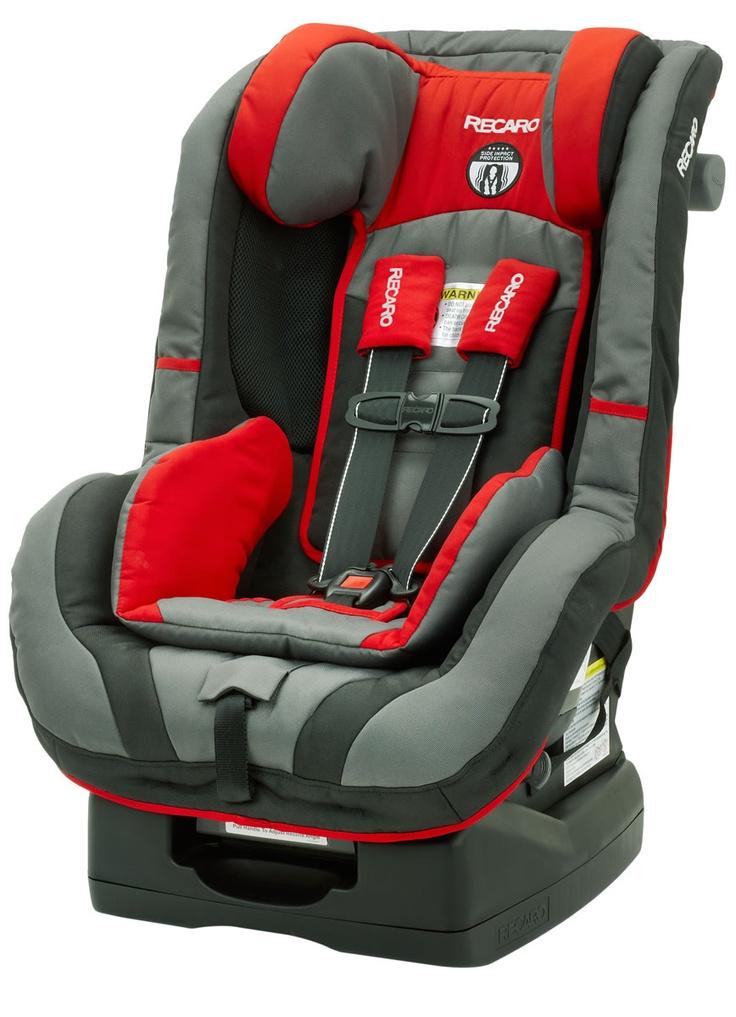 Recaro ProRide Convertible Carseat: super safe + made by a European race car company.