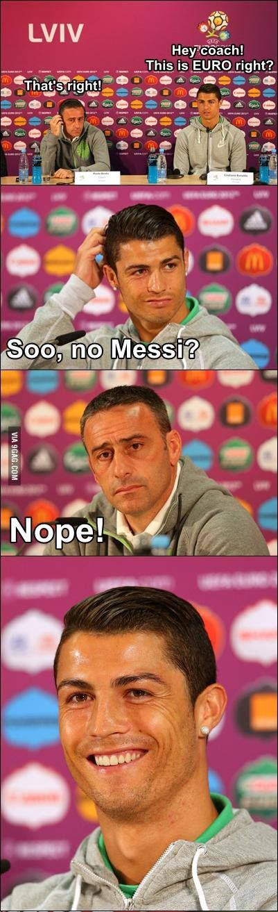 haha that's what happens at the euro cup all the time