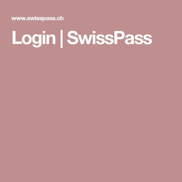 Login | SwissPass