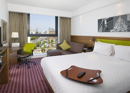 Hampton by Hilton Liverpool/City Centre Hotel, UK - Contemporary, River-view Guest Room (hamptoninn3.hilton, 02/17)