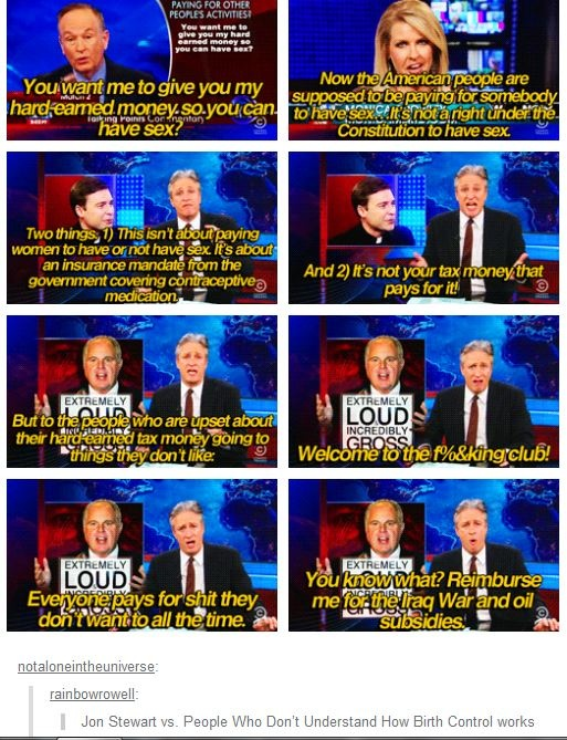 This is fantastic! Ohhh Jon stewart