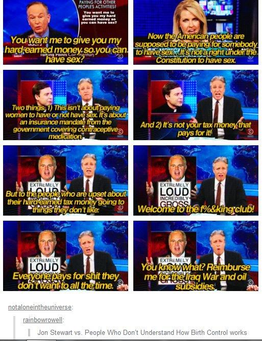 I <3 you Jon Stewart