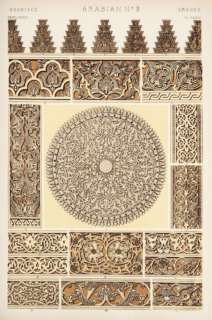 Arabian ornaments