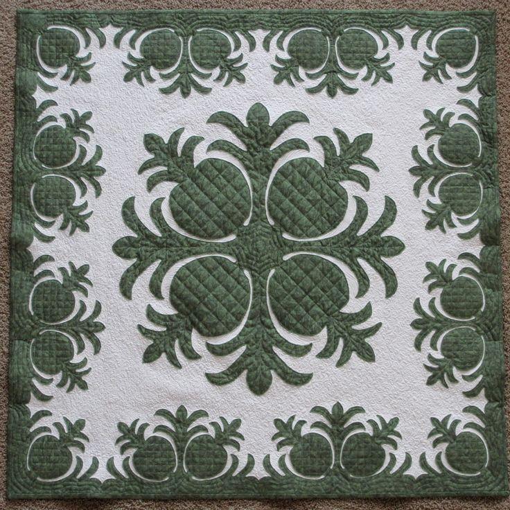 Pineapple Patch quilt #quilt