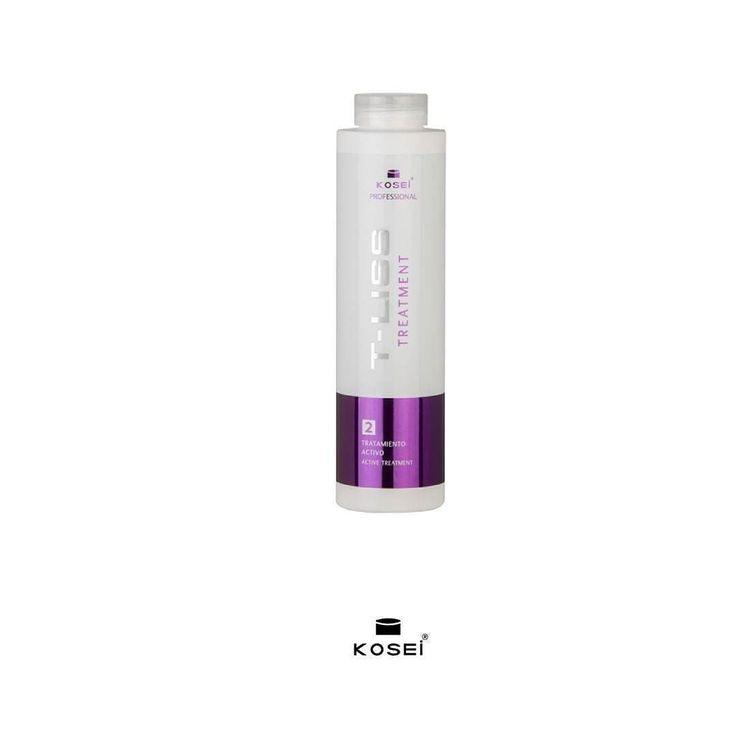 T-Liss Tratamiento activo 500ml Permite la realización de 7-8 tratamientos.  Tratamiento a base de TLS active derivado de cisteína y keratina libre de formol que relaja el rizo aporta un brillo y sedosidad espectaculares al cabello. Elimina el encrespamiento. Ayuda a recuperar el cabello de los daños causados por la acción térmica de planchas y secadores así como por agentes químicos (tintes mechas permanente). Tratamiento no permanente de alisado basado en una nueva tecnología. Cabello…