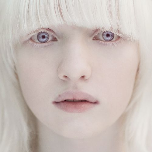 She could play a snow maiden. What a hauntingly beautiful face and coloration.