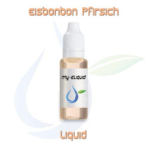 Eisbonbon Pfirsich Liquid | My-eLiquid E-Zigaretten Shop | München Sendling