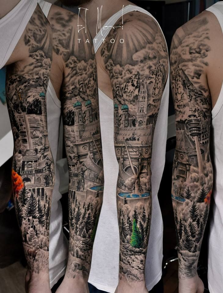 Sleeve Tattoo Artist: Tattoo Artists, Germany Tattoo, Tattoos