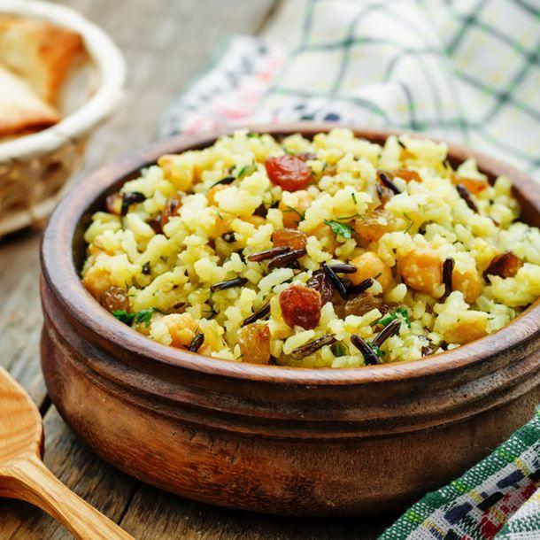 Riz aux légumes et saveurs orientales
