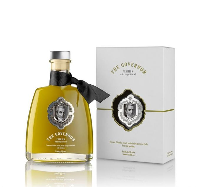 """The Governor"" Premium Extra Virgin Unfiltered Olive Oil"