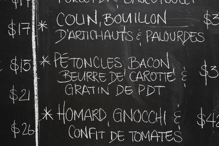 Le Garde Manger de Chuck Hugues! 408 Saint-François-Xavier / Vieux Montréal 514-678-5044