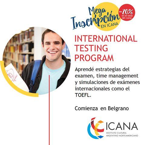 Preparate para los exámenes internacionales con nuestro taller International Testing Program.