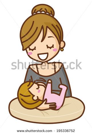 17 Best images about Breastfeeding Clip Art & Vectors on Pinterest ...
