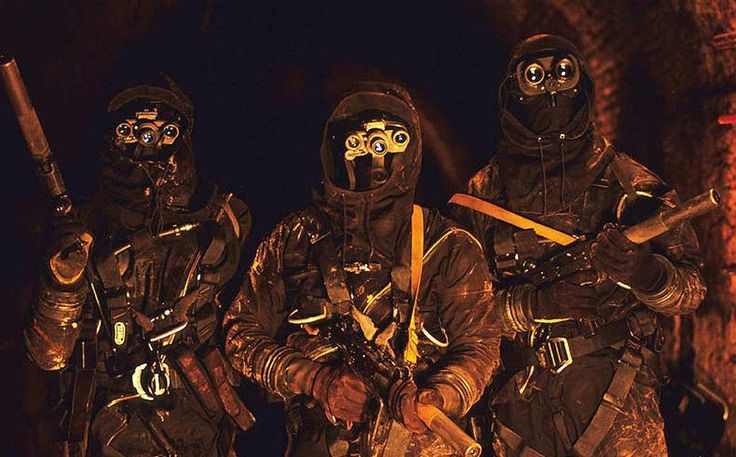 French Special Forces  All with night vision and silenced weapons. That's my kind of Special Forces.