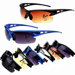 Free Shipping Fashion Brand Cycle Sunglasses Bike Sunglass Motorcycle Glasses Sun Glasses Day and Night Glasses  $8.00