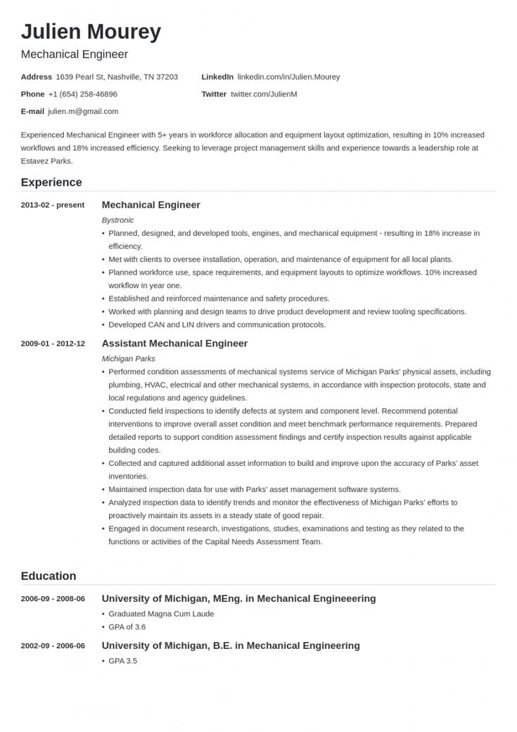 Explore our image of mechanical engineer job description