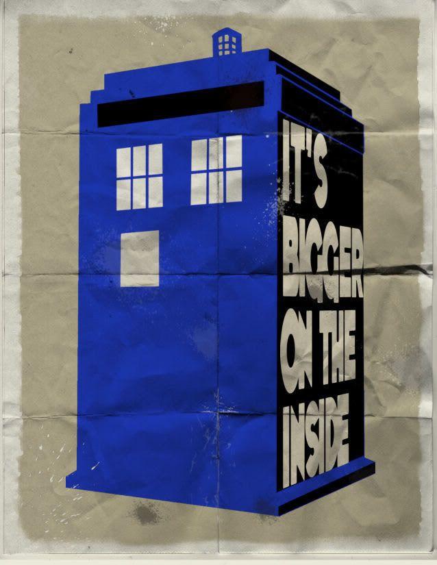 Apocalypse POW!: Triptych: TARDIS Blue