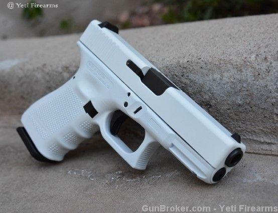 X-Werks Glock 19 Gen 4 Stormtrooper White 9mm G4 : Semi Auto Pistols at GunBroker.com