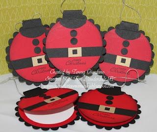Tarjetas para los Regalos de Navidad. Tutorial gratis en Español en www.coqueteriasmanuales.com  haz click en el vinculo para entrar a copiarlo