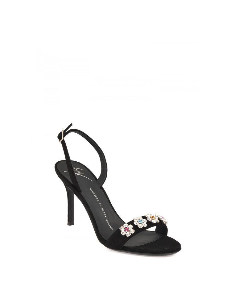 Giuseppe Zanotti - Giuseppe Zanotti Design Leather Sandals, Women's Sandals | Italist