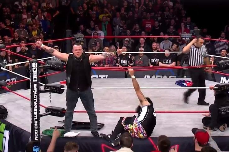 Sami Callihan debuts for Impact Wrestling at Bound For Glory 2017: Impact Tag Team Champions oVe (Dave & Jake Crist) came into Bound For…