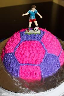 Tales of a Pee Dee Mama: Soccer birthday cake