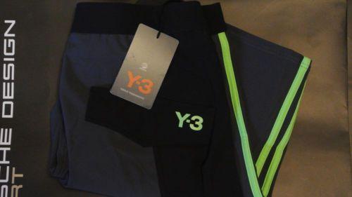 89$-Adidas-Y-3-By-Yohji-Yamamoto-Men-039-s-Fitness-Shorts-Size-M-Medium-S10697 #Adidas #Y-3 #YohjiYamamoto  #SportShorts #Black