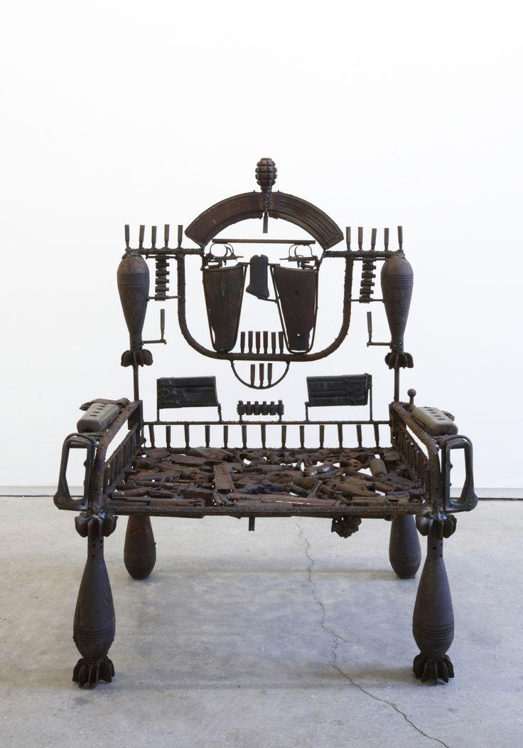 Gonçalo Mabunda Throne 2