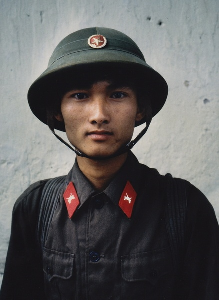 What our enemy looked like. He too, just a boy. North Vietnamese Army soldier.