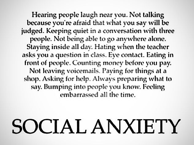 Image result for social anxiety quotes