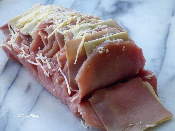 Rôti de porc Orloff au Cookéo